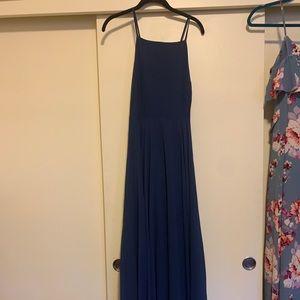 Navy blue lulus bridesmaids dress